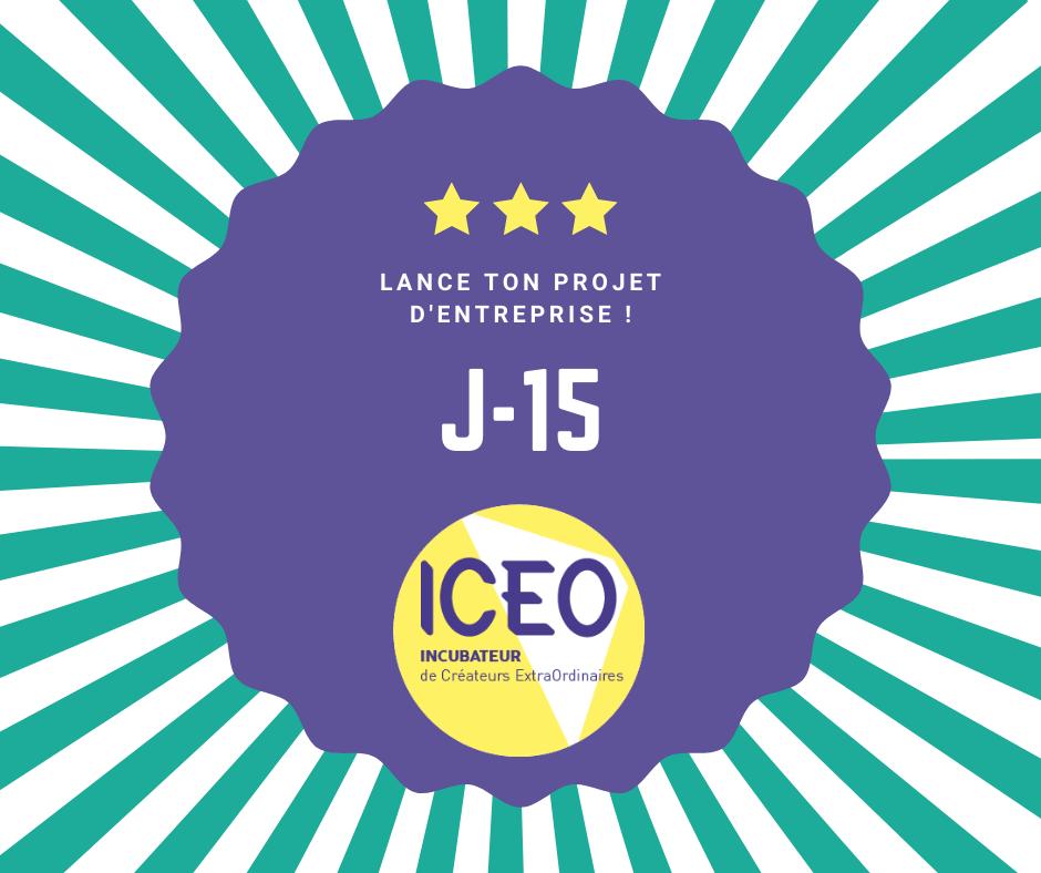 ICEO J-15 pour postuler