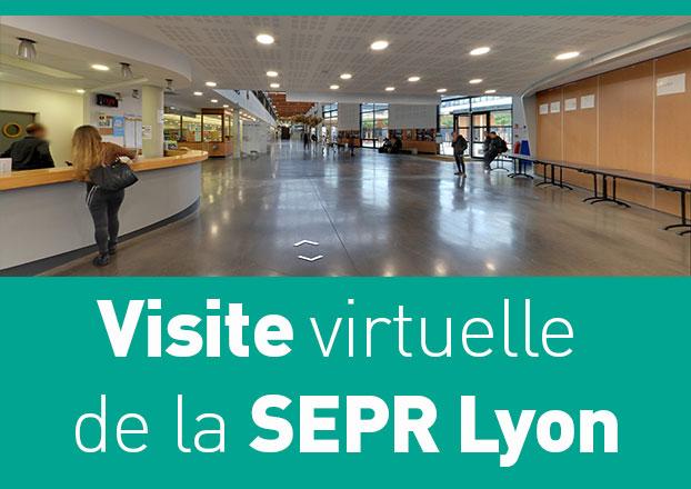 Visite virtuelle de la SEPR
